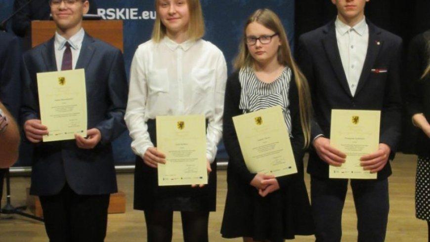 Stypendium Marszałka Województwa Pomorskiego dla uczennicy Szkoły Podstawowej w Mściszewicach