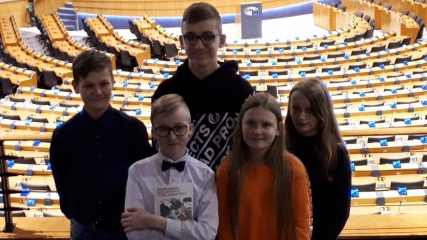 Uczniowie z Podjaz w Brukseli