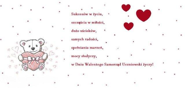 Zdalne Walentynki w Szkole Podstawowej w Podjazach
