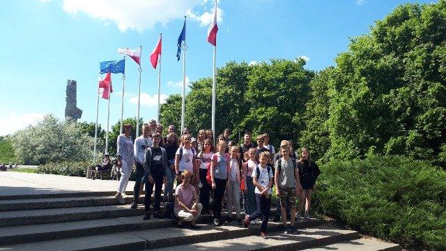 Wycieczka uczniów z Podjaz  do Gdańska